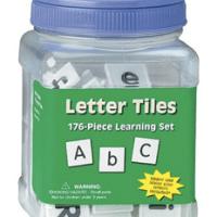 Letter Tiles For $5.30 Shipped