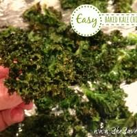 Easy Baked Kale Chips Recipe