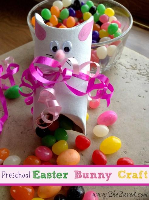 Preschool Easter Bunny Craft