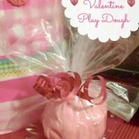 Easy Homemade Play Dough: Valentines Gift Idea