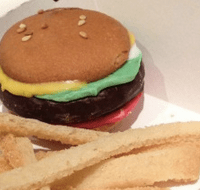 Hamburger Cookies Recipe