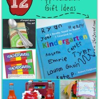 12 DIY Teacher Appreciation Gift Ideas
