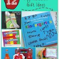 12 DIY Teacher Appreciation Gift Ideas