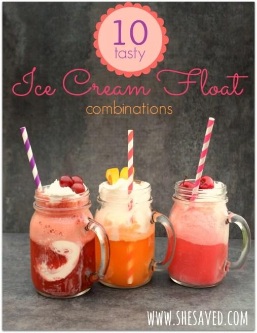 Ice Cream Float Combinations
