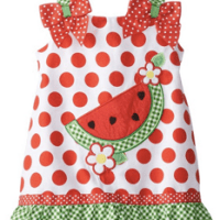 Youngland Infant Watermelon Sundress For $14.99 Shipped