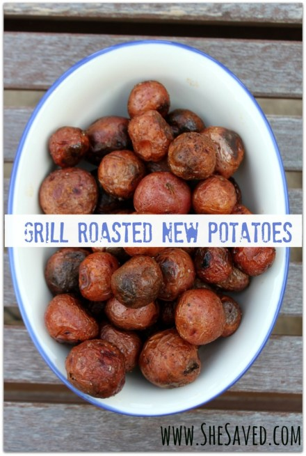 Grill Roasted New Potatoes