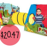 Playhut Mickey Playville Tent For $20.47 Shipped