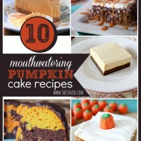 10 Mouthwatering Pumpkin Cake Recipes