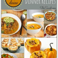 15 Divine Pumpkin Dinner Recipes