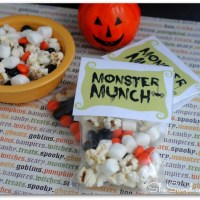 Monster Munch FREE Printables