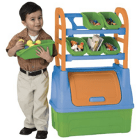 American Plastic Toy Organizer For $26.87 Shipped