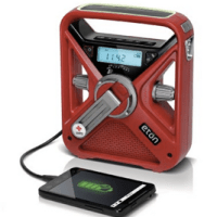 American Red Cross Weather Alert Radio with Smartphone Charger For $33 Shipped