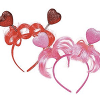 Heart Ponytail Head Boppers 6 For $9.99 Shipped
