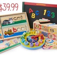 Melissa & Doug Educational Bundle For $39.99