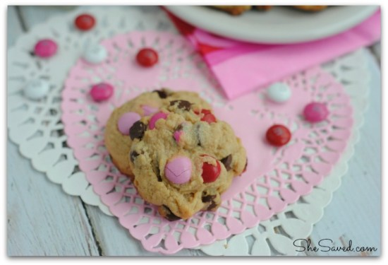 Valentine Pudding Cookies