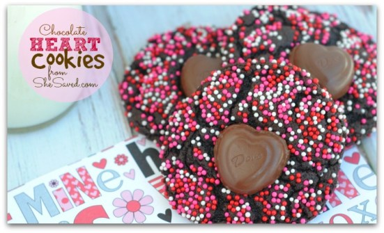 Dove Chocolate Heart