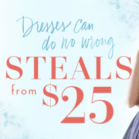 Designer Dresses from $25!