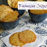 Easy Homemade Parmesan Crisps Recipe