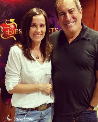 That time. That time I interviewed KENNY ORTEGA!!