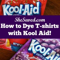 How to Dye T-Shirts with Kool Aid