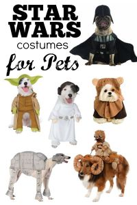 STAR WARS Costumes for Pets! - SheSaved