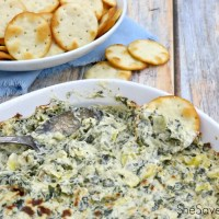Hot Spinach and Artichoke Dip Recipe