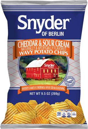 HGG 15 Snyder of Berlin Cheddar & Sour Cream