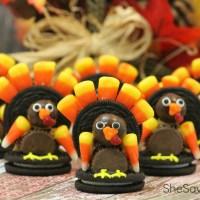 Adorable Turkey Cookies