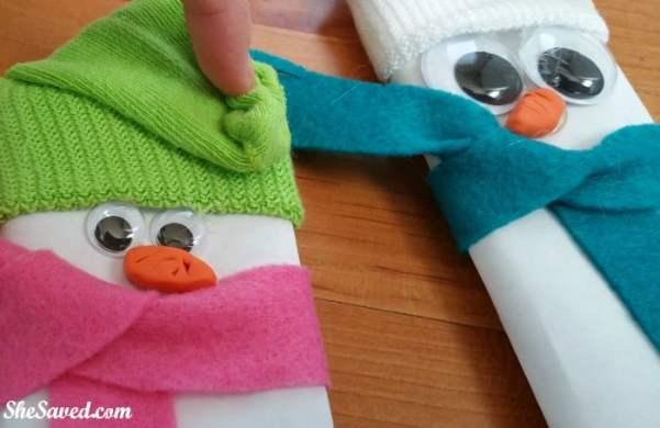 Candybar Snowmen 8
