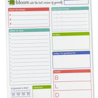 Organizing Life: Bloom Planner Pads Back in Stock!