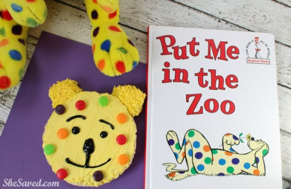 Celebrate Dr. Seuss Day and National Read Across America day with these fun Put Me in the Zoo Rice Krispies Treats!