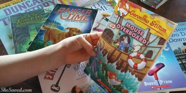 Scholastic Reading Challenge 20