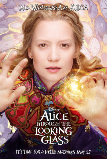 Mia as Alice