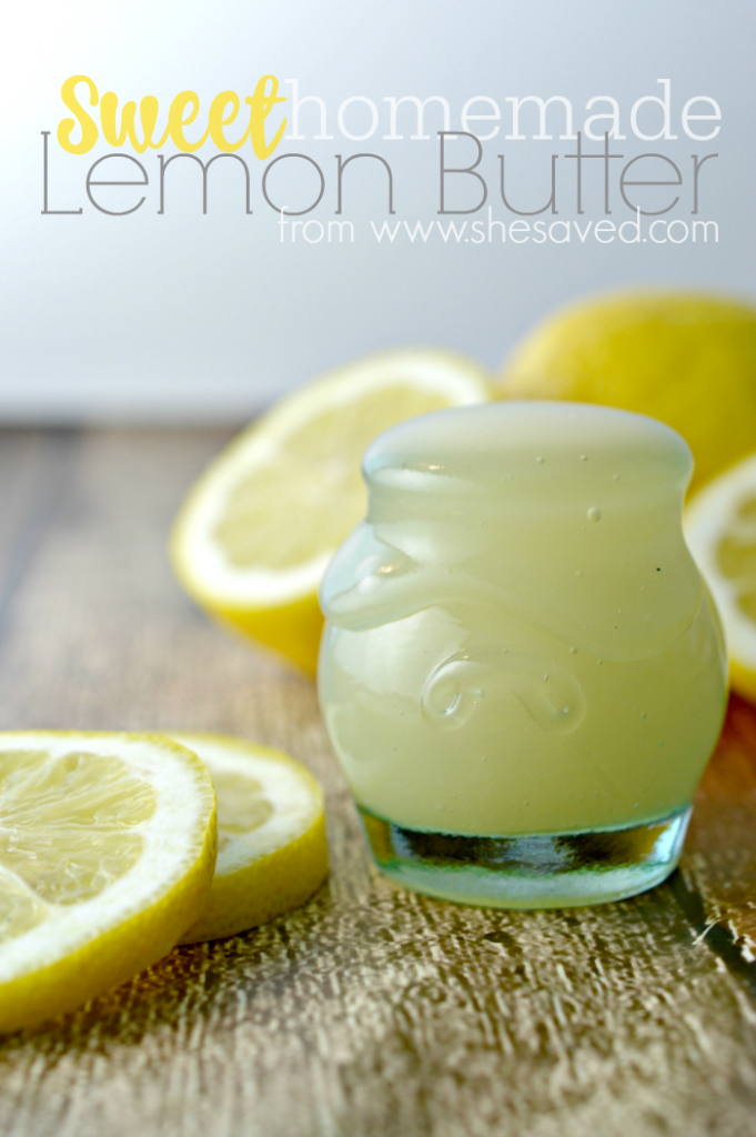 This Sweet Lemon Butter recipe is perfect for  making delicious toppings for your favorite treats PLUS it uses just a few ingredients and makes a nice homemade gift idea!