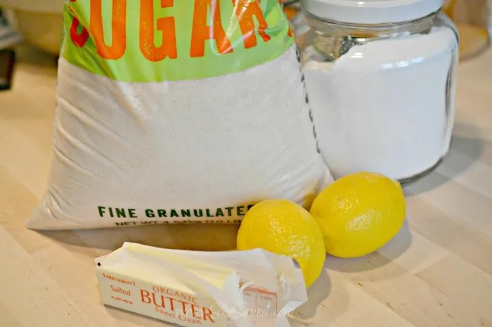 Lemon Butter Ingredients