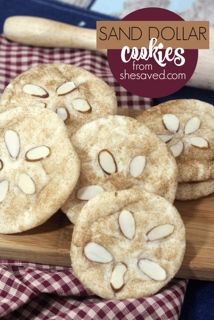 If you are at the beach or just dreaming of the beach, these fun Sand Dollar Cookies are the perfect treat to celebrate your love for the shore!