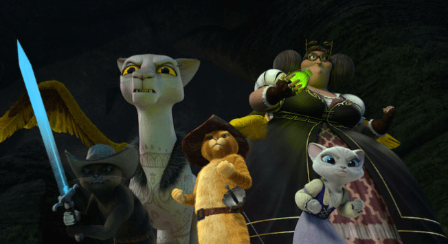 PHOTO CREDIT (Photo: DreamWorks Animation) AND LEGAL LINE (The Adventures of Puss in Boots © 2016 DreamWorks Animation Television, Inc. All Rights Reserved.)