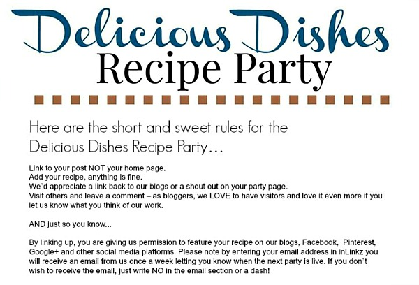 Delicious Dishes Recipe Party Rules July 2016