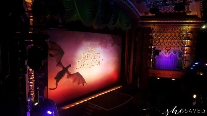 El Capitan Theatre Screen