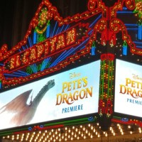 Pete's Dragon World Premiere