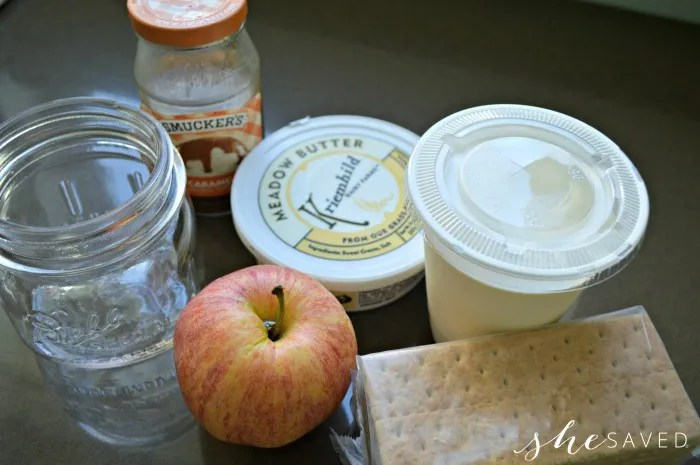 Ingredients for Apple Cheesecake