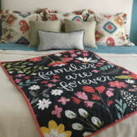 GREAT Gift Idea: Custom Quilt Made in the USA + Quilt Giveaway!! ($250 Value!)