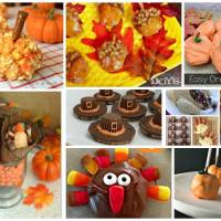 Delicious Dishes Party: Easy Last Minute Thanksgiving Treats