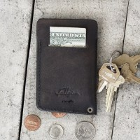 Great Gift Idea: Slim 100% Leather Wallet