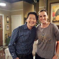 Behind the Scenes at ABC: On the set of Dr. Ken with Dr. Ken!