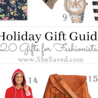 HOLIDAY GIFT GUIDE: Gifts for the Fashionista