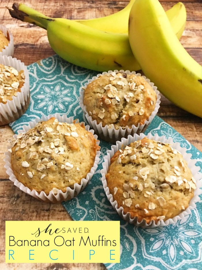 This Banana Oat Muffins Recipe is a favorite! Healthy and they freeze beautifully so they are wonderful to make in big batches for easy breakfast options.