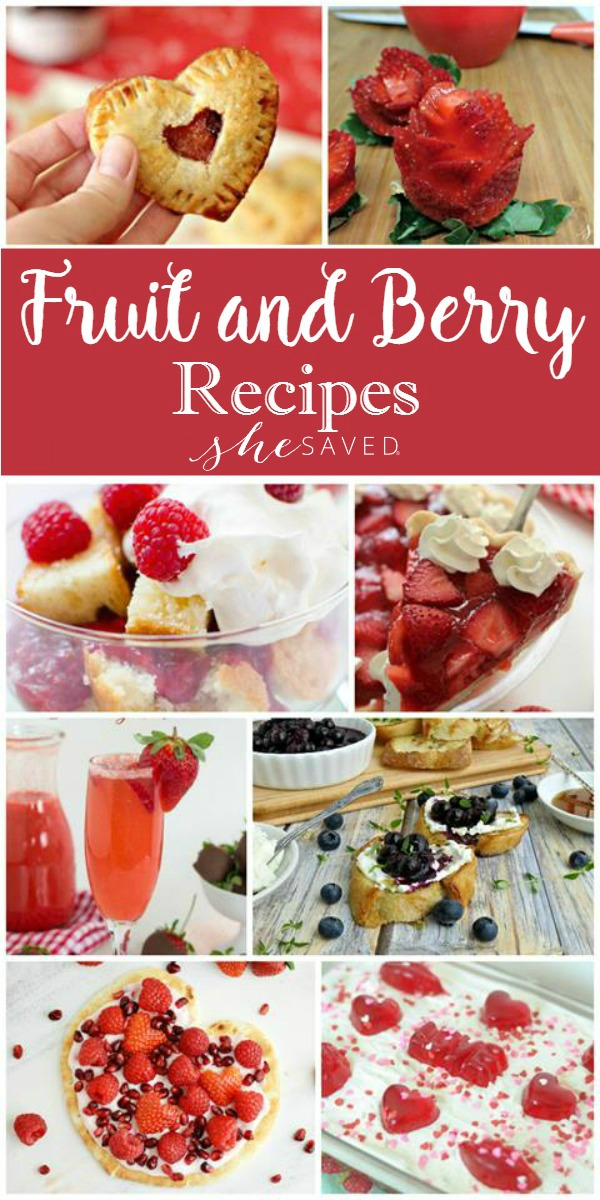 Here's a wonderful collection of tested fruit and berry recipes!