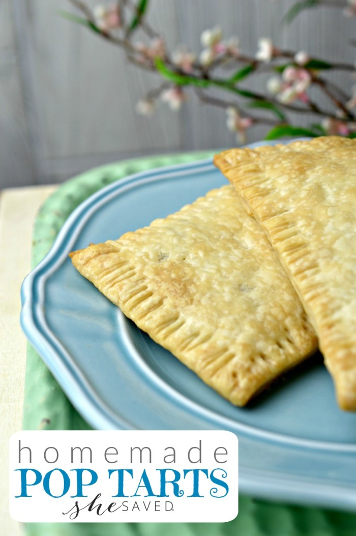 Make the kids a breakfast treat they will love, these Easy Pop Tart Recipe will be a hit!