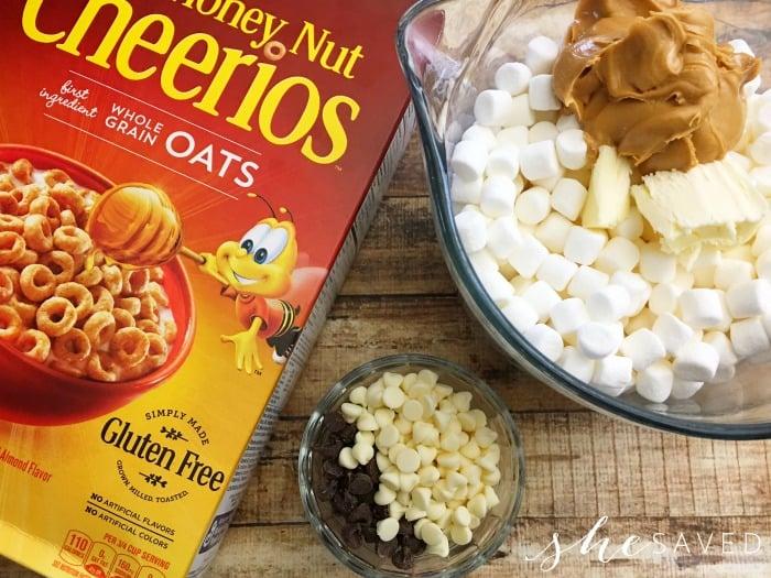 Cheerio Bar Ingredients